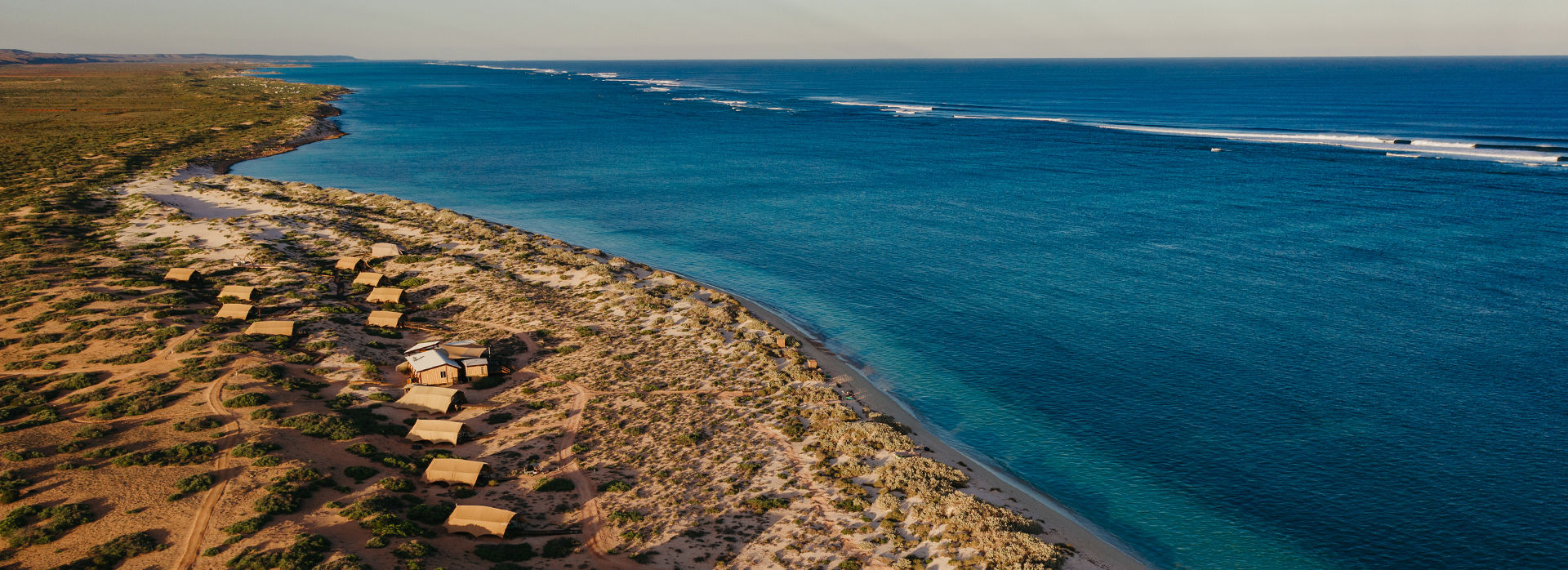 JBD SS Aerial Drone camp beach ningaloo reef agent hero0